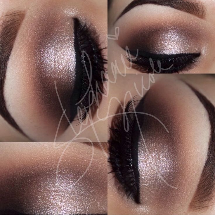 MAC Painterly paint pot Soft Brown in crease Brun / Carbon in outer V Nylon center of lid