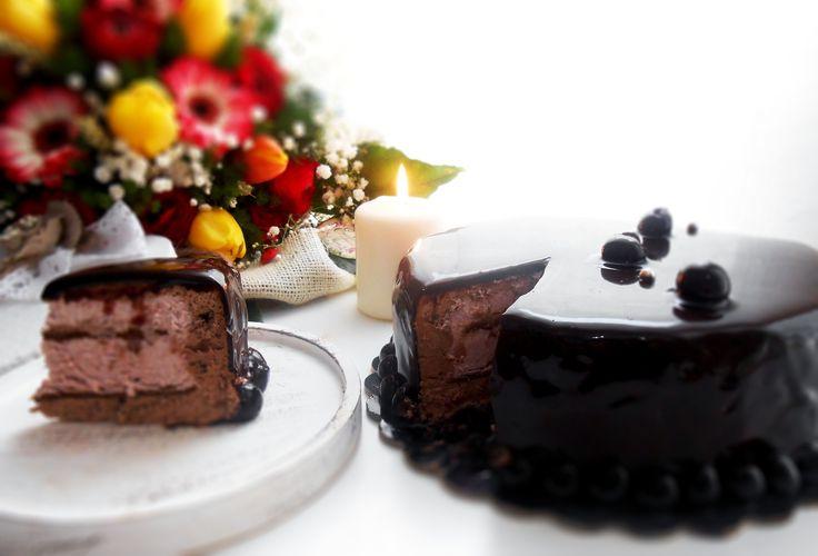 Oltre 1000 idee su Torta Di Mousse Di Cioccolato su Pinterest  Mousse ...