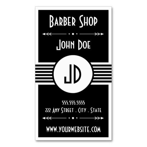 Barbershop Neenah : 1000+ images about Business cards on Pinterest