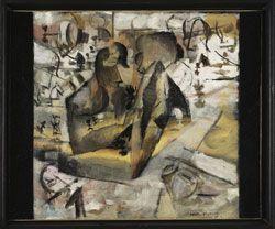 Marcel Duchamp, Les Joueurs d'échecs, 1911, Pompidou