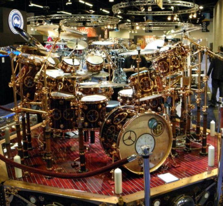 Neil Peart Clockwork Angels drum kit | Drum Kits ...