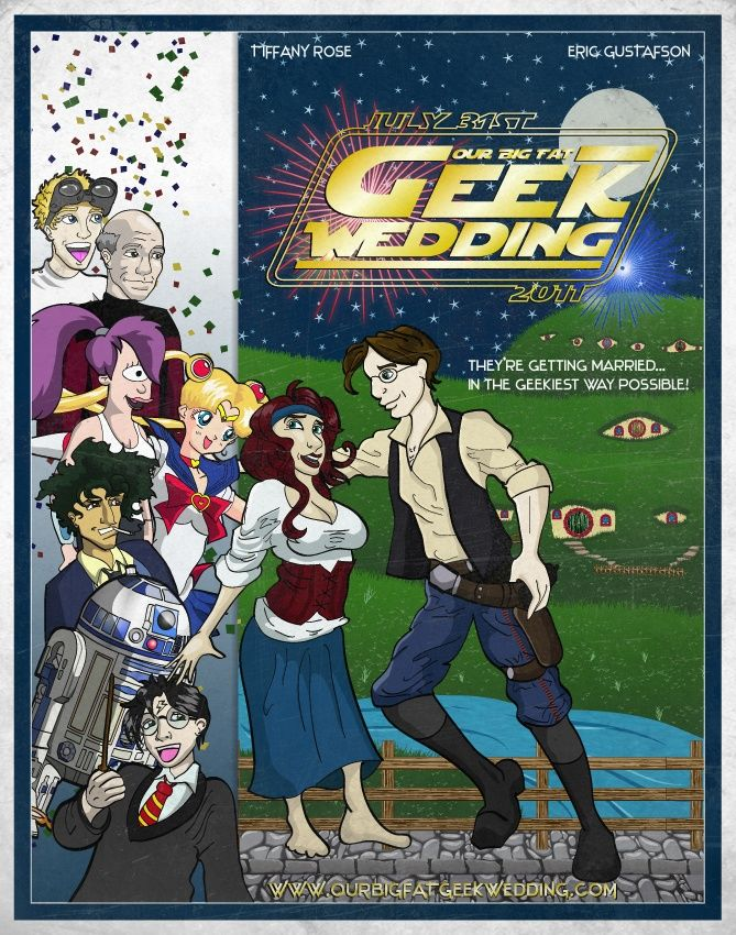 Superior Our Big Fat Geek Wedding Invitation By ~meeko On DeviantART Itu0027s Doctor  Horrible, Picard