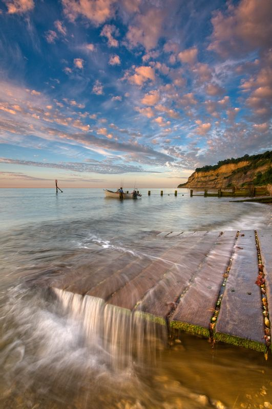 Shanklin Beach, Isle of Wight.