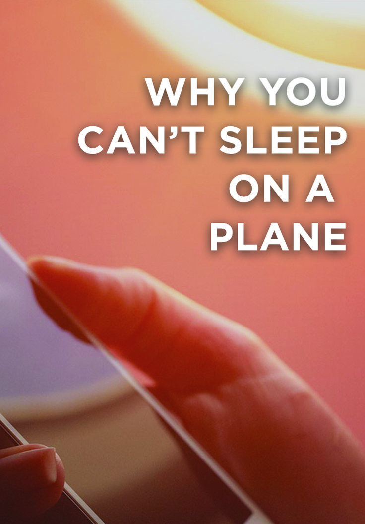 When boarding a plane, you have the purest of intentions: You're going to use this rare empty stretch of time to catch up on much-needed sleep. But things aren't ever that simple, are they? Our friends at Smarter Travel tell us the ways we might be sabotaging our mile-high shuteye.