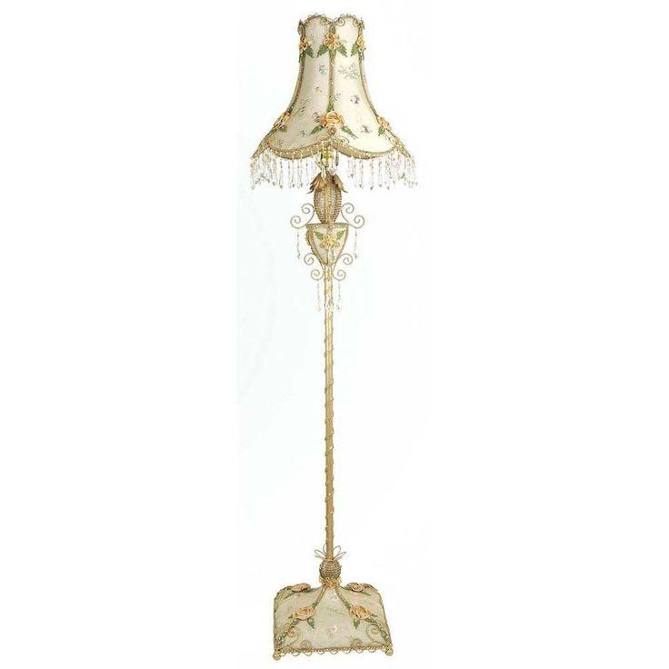 Filament Design Xavier 62.2 in. Beige Floor Lamp