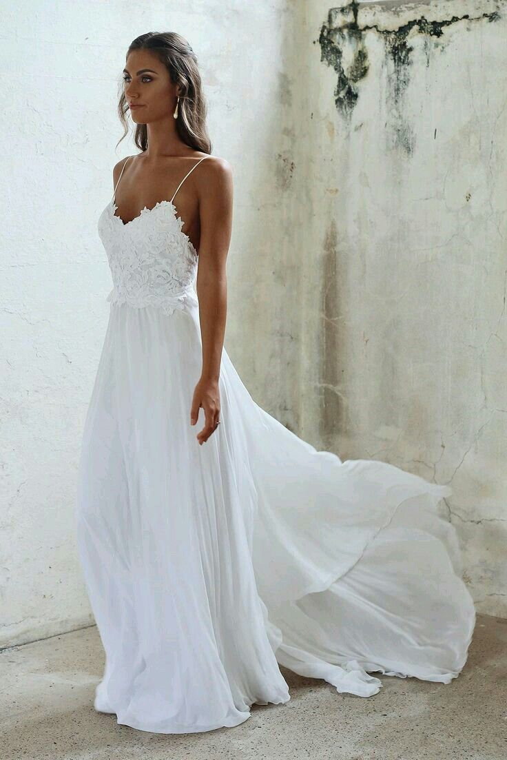 Wedding dress rental los angeles   best Bohemian beach wedding dress images on Pinterest  Short