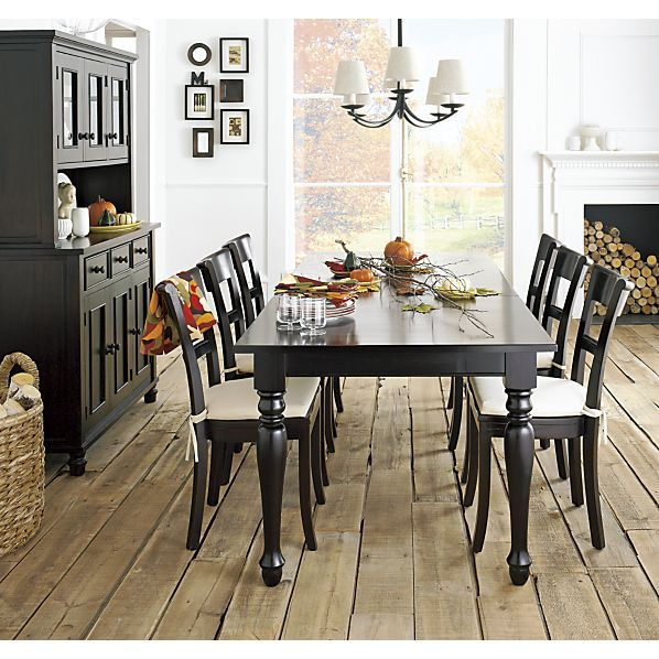 Inspiration for our dining room - Kipling Side Chair in Dining Chairs | Crate and Barrel
