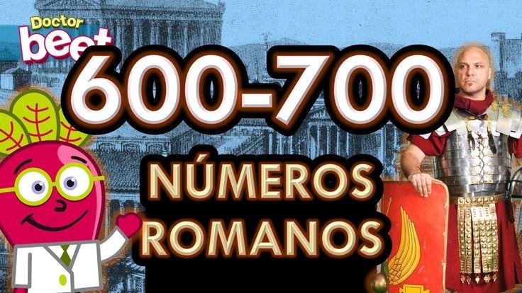 #numeros #romanos #roman #numerals #primaria #actividades #dedos #del #600 #al #700 #educacion #fechas #infantil #niños #para #reloj #romans