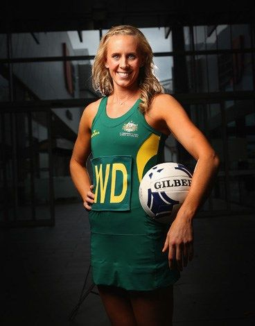 Renae Hallinan has been selected for the Australian netball team. The athletic 27-year-old player is taking time out of her Adelaide Thunderbirds duties to player wing-defence for the national side.