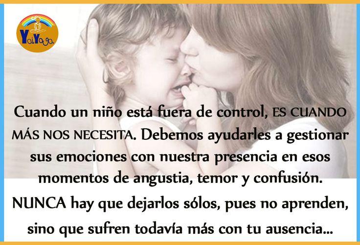 ¡Quiérelos cuando menos lo merezcan! #crianzarespetuosa #amor