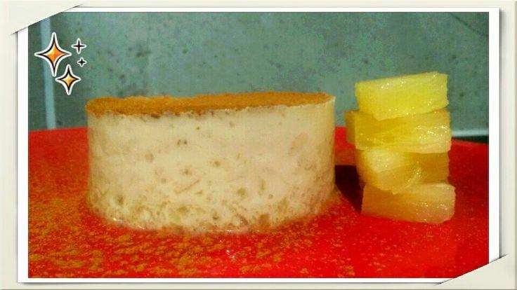 #creole #flan  #pineapple #coconut #vegan #dessert #recipe