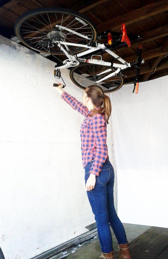 Portabicicletas de techo de Hide-A-Ride. por HeadStandStore en Etsy