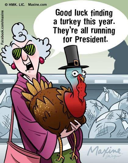 Good Luck Finding A Turkey