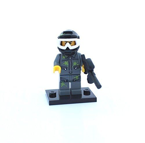 LEGO-MINIFIGURES SERIES 10 X 1 HELMET FOR PAINT BALL GUY FROM SERIES 10 PARTS