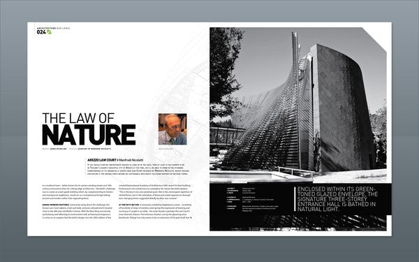 Modern design magazine 13 on editorial design served for Interior design layout inspiration