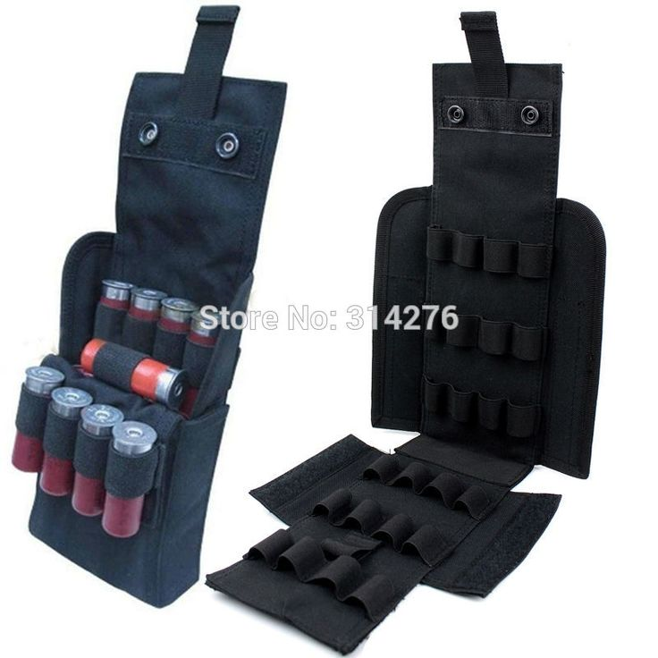 25 Round Shotgun Shotshell Reload Holder Molle Pouch For 12 Gauge/20G
