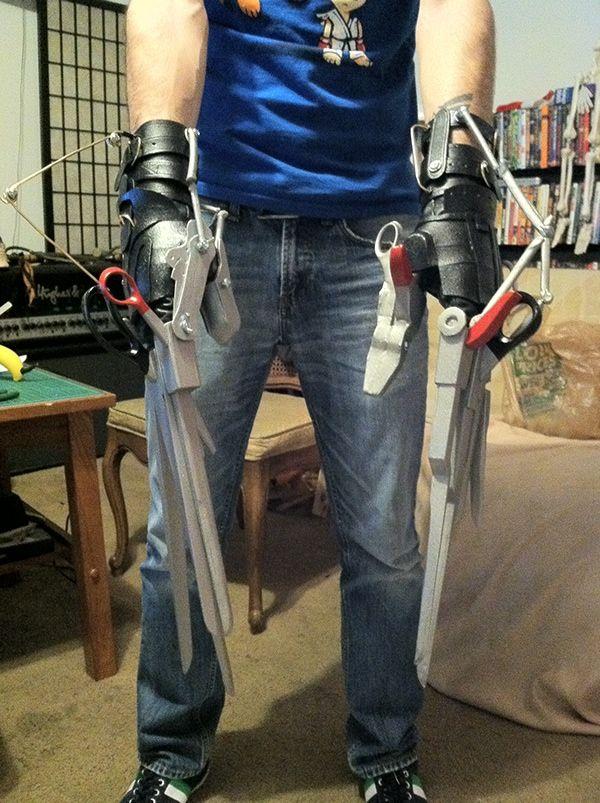 Edward Scissorhands Gloves on Behance Edward