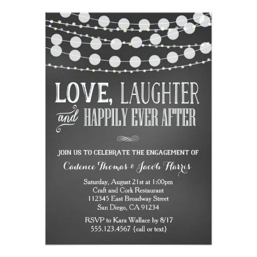 The 25+ best Engagement invitation template ideas on Pinterest - engagement party invitation template