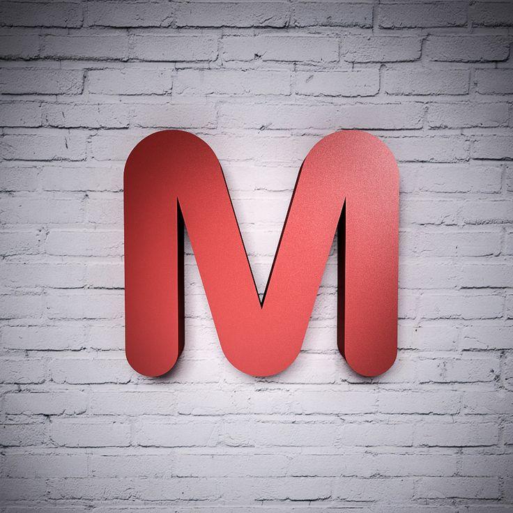 Betű Ovális betűtípussal, színes | Miradea