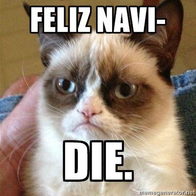 haha christmas grumpy cat