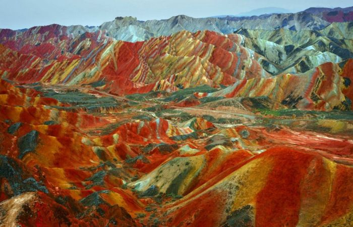 Chine : le site naturel le plus coloré du monde - Linternaute.com Voyager