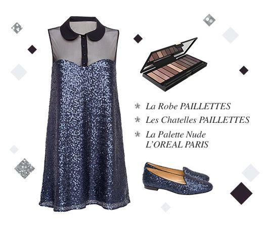 Participez au jeu #ShineCalendar et tentez de gagner votre mise en beauté pour la dernière soirée de l'année ! http://shinecalendar.princessetamtam.com/fr/concours