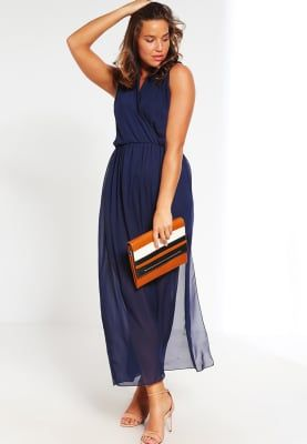 Missguided Plus Maxi dress - navy for £40.99 (12/10/16) with free delivery at Zalando