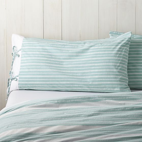 Kika King Pillow Sham  | Crate and Barrel