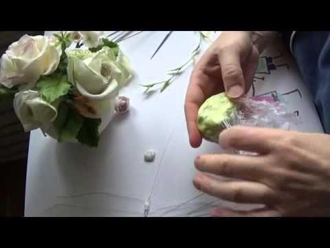 декоративные веточки для букета. ХФ. Мастер Класс от Риты часть 1 - YouTube