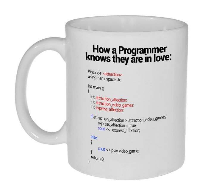 Programmers and other technical types have a bad habit of letting their profession intrude into their personal life. Sometimes this even leaks over (a stack overflow, we believe) into their emotional
