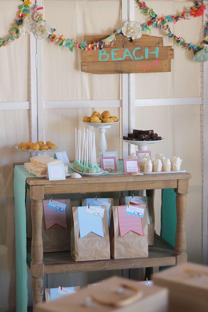 Nice Party H&M kids mesa de dulces verano