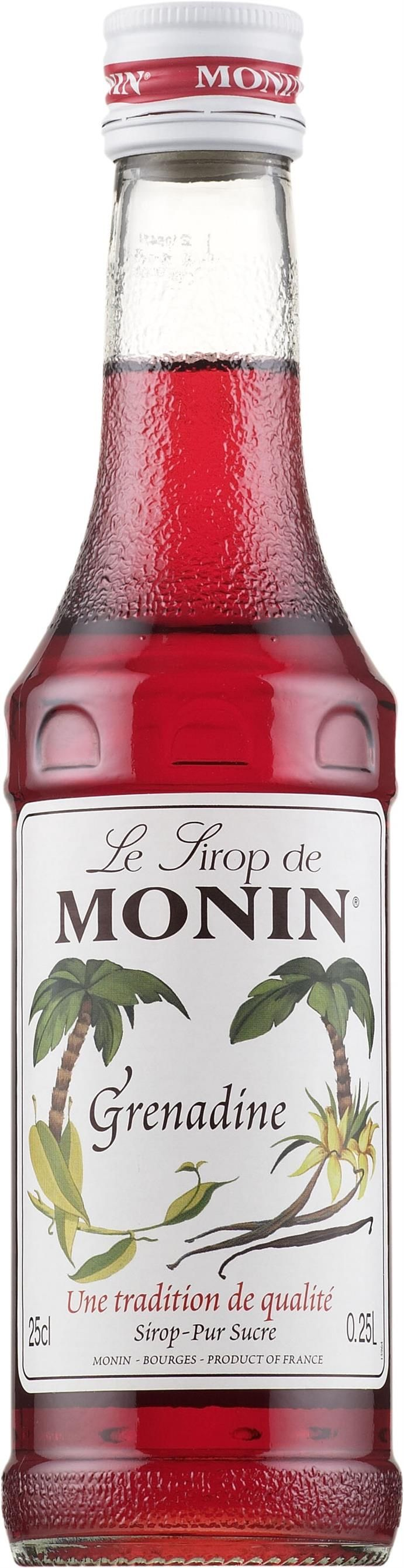Le Sirop de Monin Grenadine - Alkoholittomat | Alko