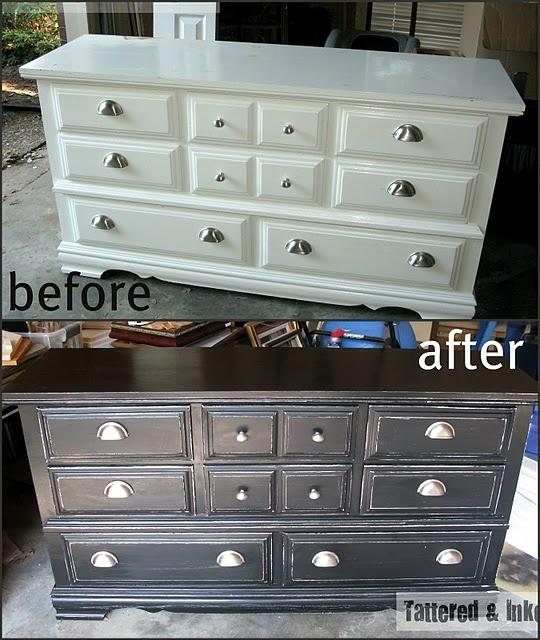 17 Best Ideas About White Distressed Dresser On Pinterest