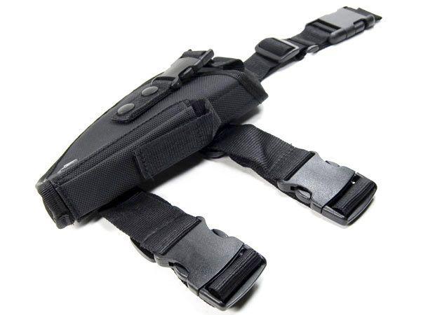 UTG New Gen Elite Tactical Pistol Leg Holster w/ Velcro Straps + Quick Release #UTG #Thigh