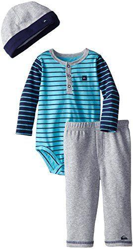 Quiksilver Baby-Boys Infant Striped Bodysuit, Pant, and Cap, http://www.amazon.com/dp/B00MWZ4LKQ/ref=cm_sw_r_pi_awdl_tlL2ub1PRAYJP