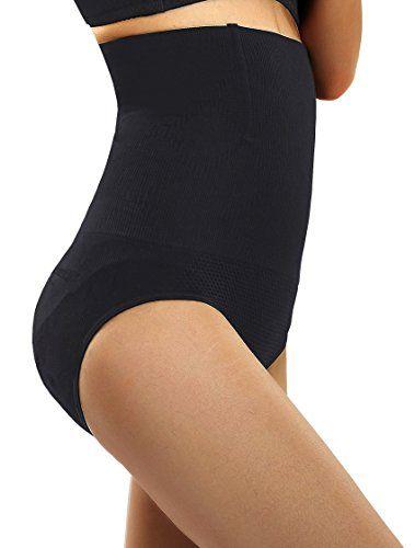 f1ff99b8b Ceesy Women s Shapewear Hi-Waist Brief Firm Control Panty Belly Trainer  Slimmer