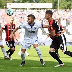 Bundesliga 3rd Division Football Match - Karlsruher SC vs Hallescher FC