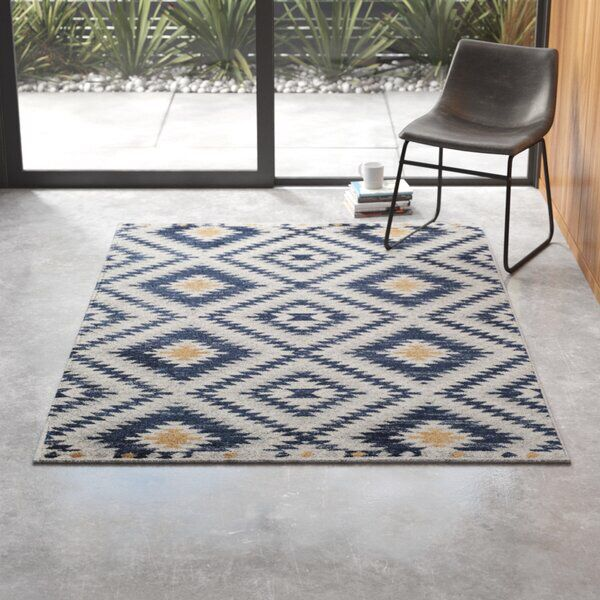 Nocturne Navy Area Rug In 2020 Navy Area Rug Area Rugs Yellow Area Rugs