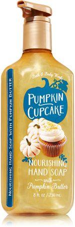 Pumpkin Cupcake Nourishing Pumpkin Butter Hand Soap - Soap/Sanitizer - Bath & Body Works