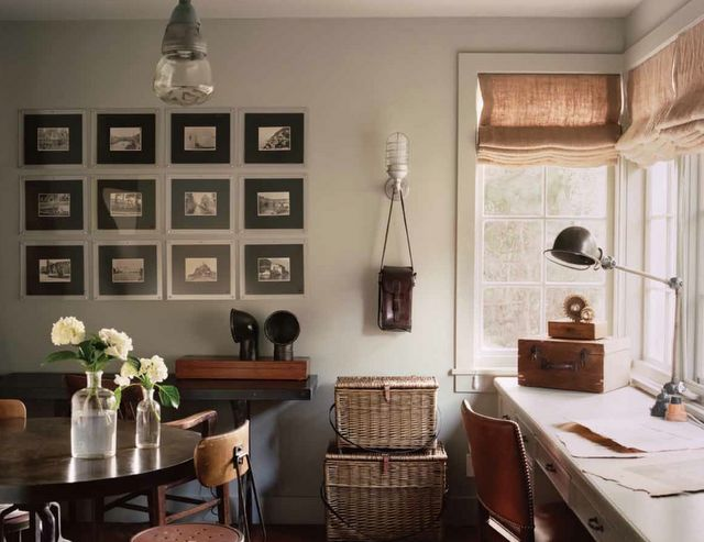"""Love kitchens with character!  From Brooke Giannetti's """"Patina Style"""" via the lovely Mrs. Blandings."""