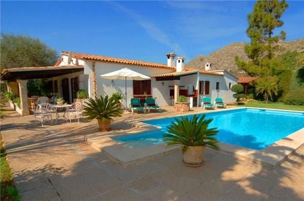 Holiday house in Pollensa, Mallorca, Spain