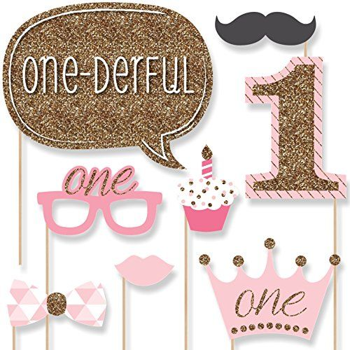 1st Birthday Girl - Fun to be One - Photo Booth Props Kit... https://www.amazon.com/dp/B00VTUQUTA/ref=cm_sw_r_pi_dp_x_8fQBybY57C69H
