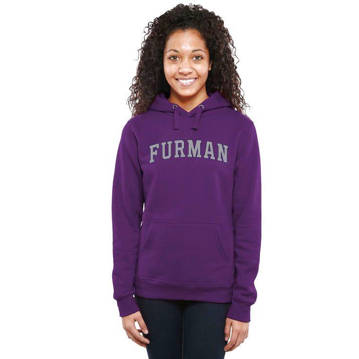 Furman Paladins Women's Everyday Pullover Hoodie - Purple - $44.99