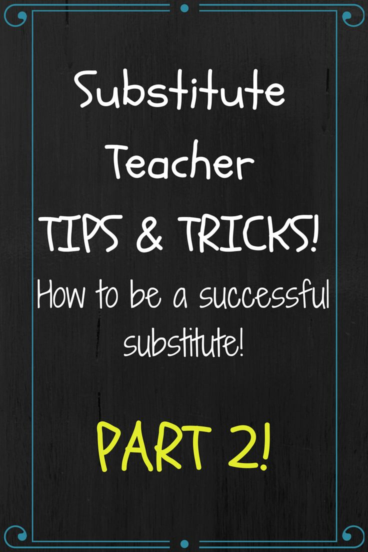 49 best substitute teaching images on pinterest classroom ms fs teaching adventures substitute teaching tips and tricks part 2 fandeluxe Images