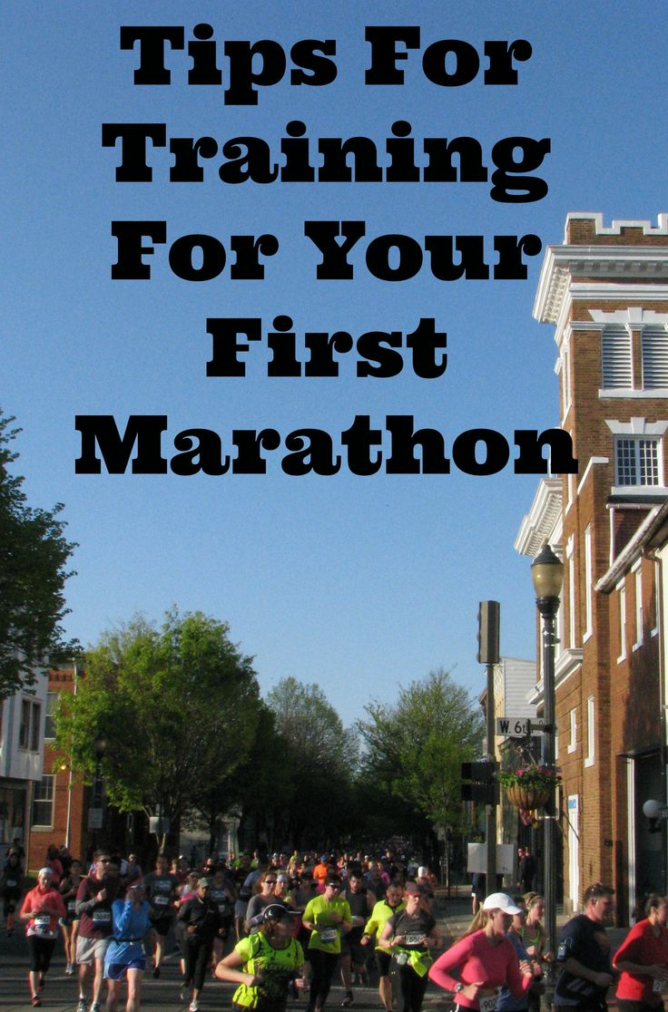Tips For Training For Your First Marathon