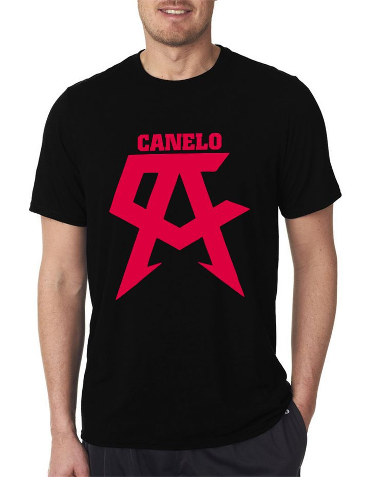 Boxing Champ (Canelo) Team Black T Shirts