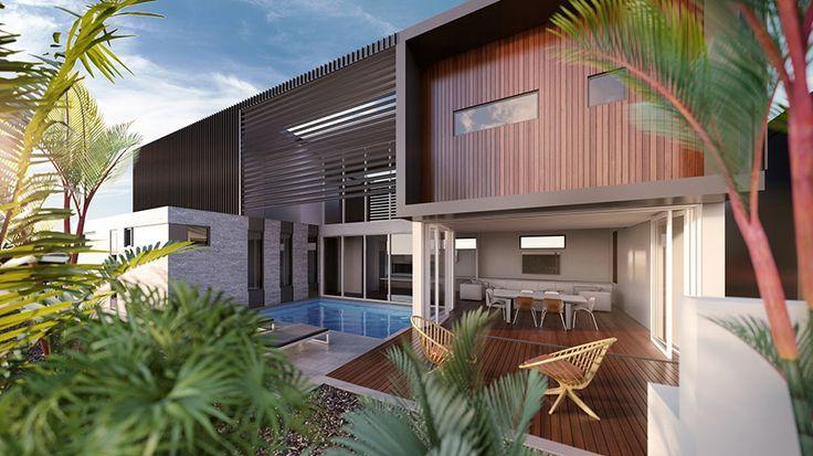 Dual occupancy house plans australia google search for Dual occupancy home designs corner block