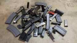 The AR-15.  AK-47.  M1A.  Glock 17.  SIG Sauer P226.  Colt 1911.  S&W M&P.  CZ-75.  Beretta 92.  Ruger 10/22.  H&K MP5.  Walther P22.  All of these