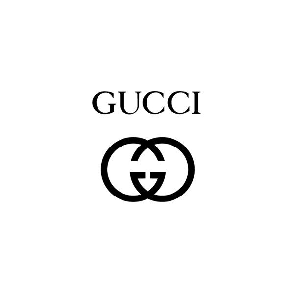 Gucci Logo ❤ liked on Polyvore featuring gucci and logo