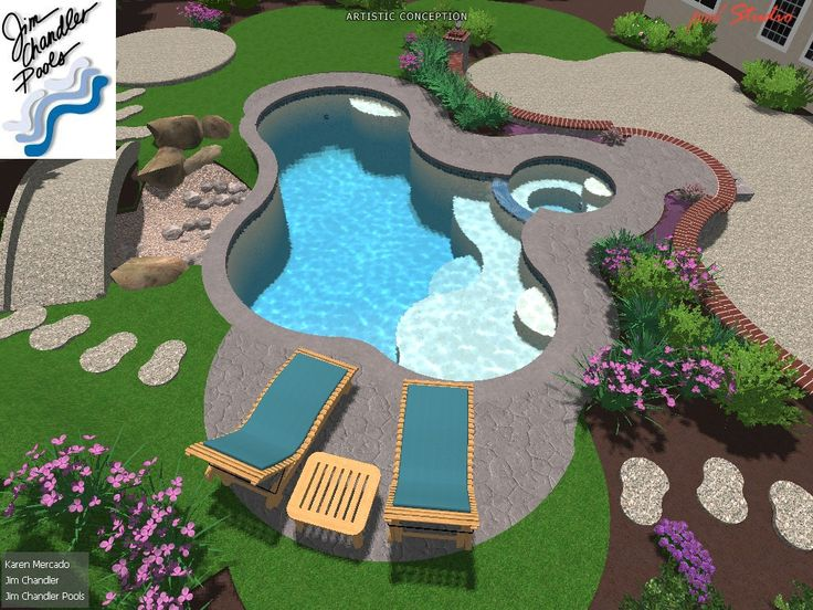 21 best images about dream 3 d pool designs on pinterest for Garden pool facebook